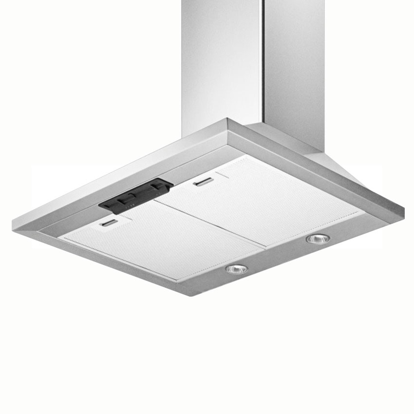 "Summit SEH1524 24"" European 530 CFM Ducted Range Hood w/ 3-Speed Fan, 115v"