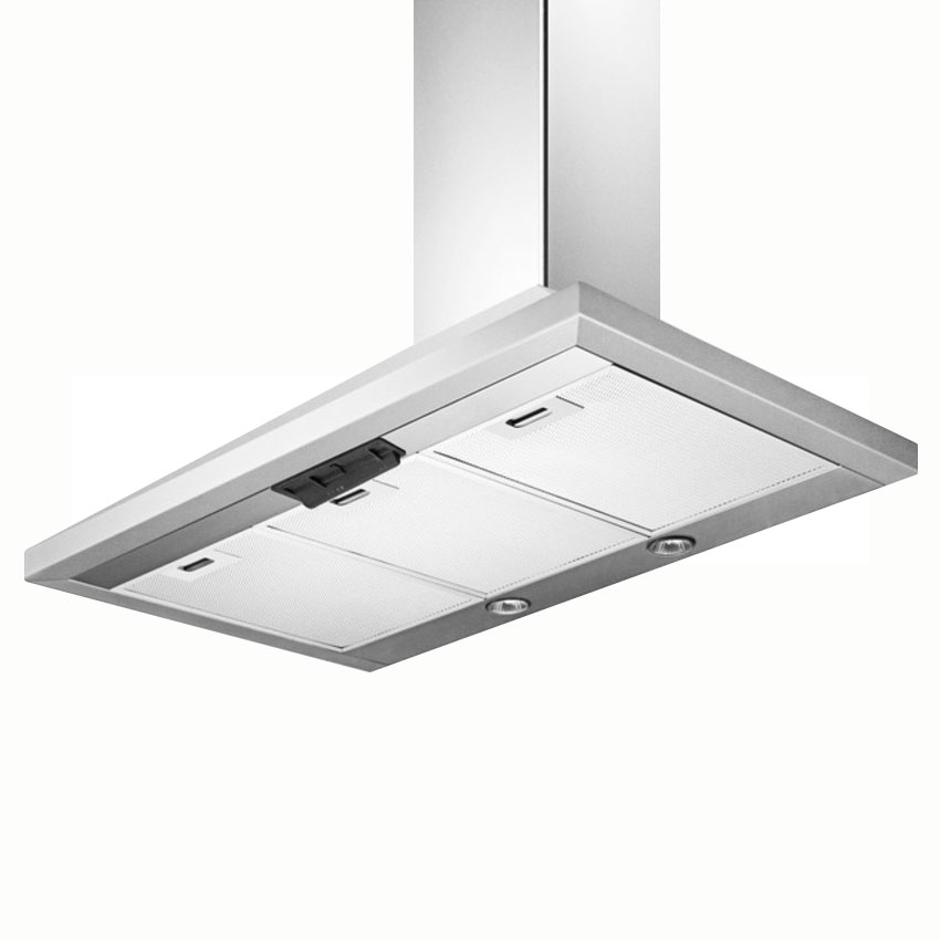 "Summit SEH1536 36"" European 530 CFM Ducted Range Hood w/ 3-Speed Fan, 115v"