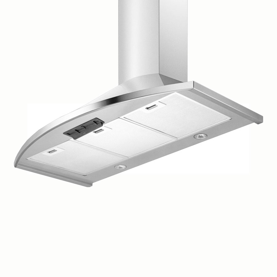Summit SEH2624 24-in Range Hood w/ 2-Cassette Filters, Timer Function & 3-Speed Fan, Stainless