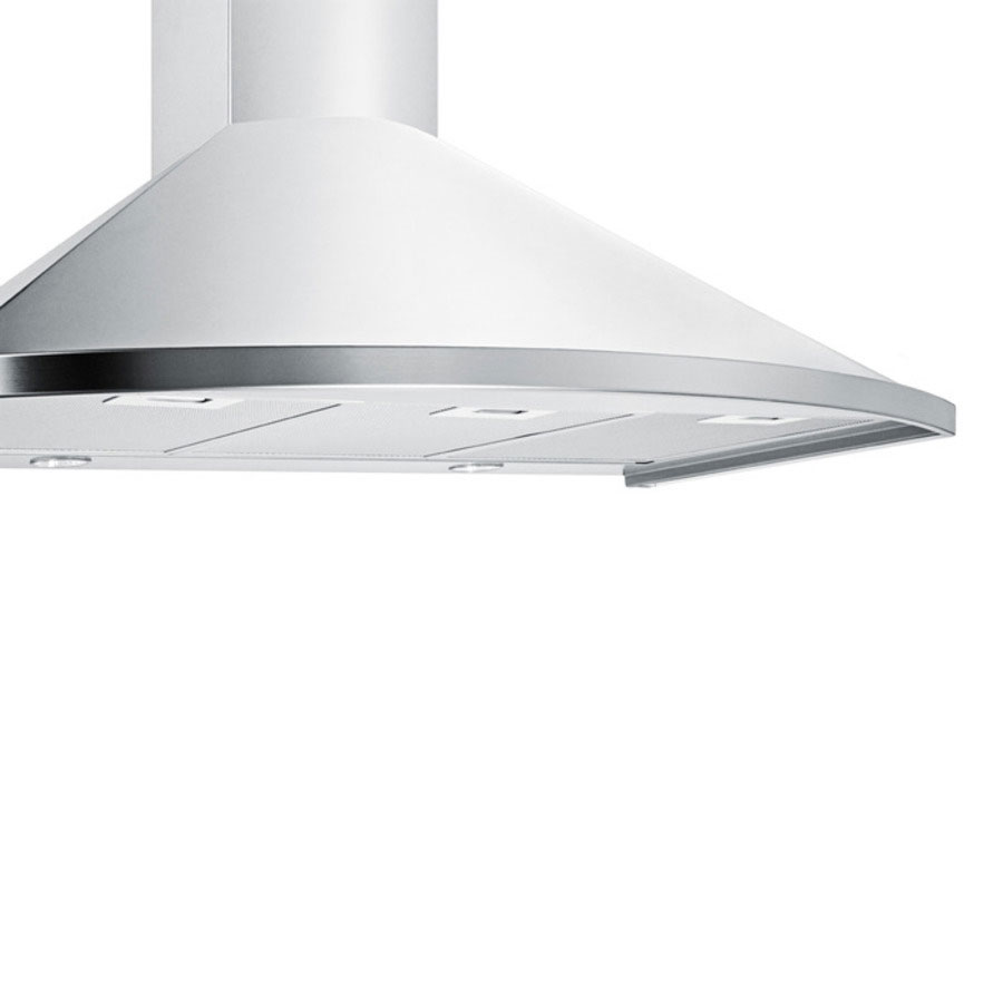 "Summit SEH2636 36"" European 500 CFM Ducted Range Hood w/ 3-Speed Fan, 115v"