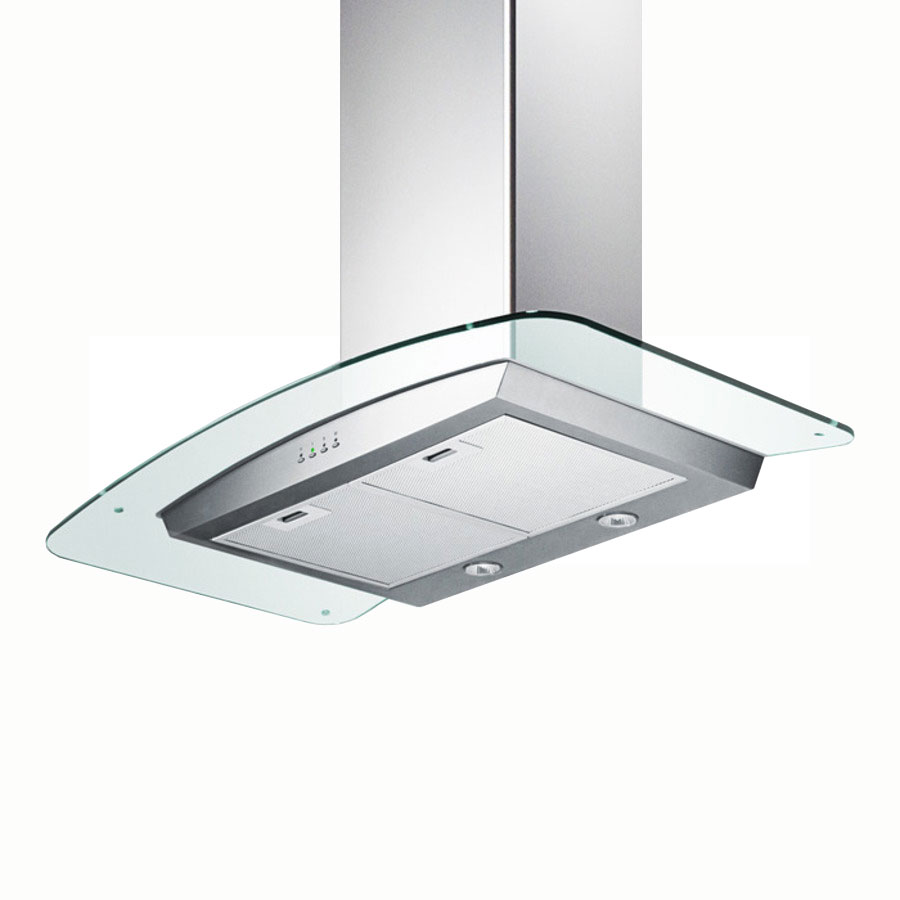 Summit Refrigeration SEH5636G 36-in Range Hood w/ Filter, Adjustable Chimney & 3-Speed Fan, 36x35.38x19.69-in, Stainless