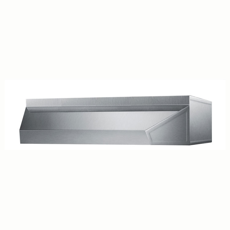 Summit Refrigeration SHELL20SS 20-in Shell Hood, 5x20x18-in, Stainless