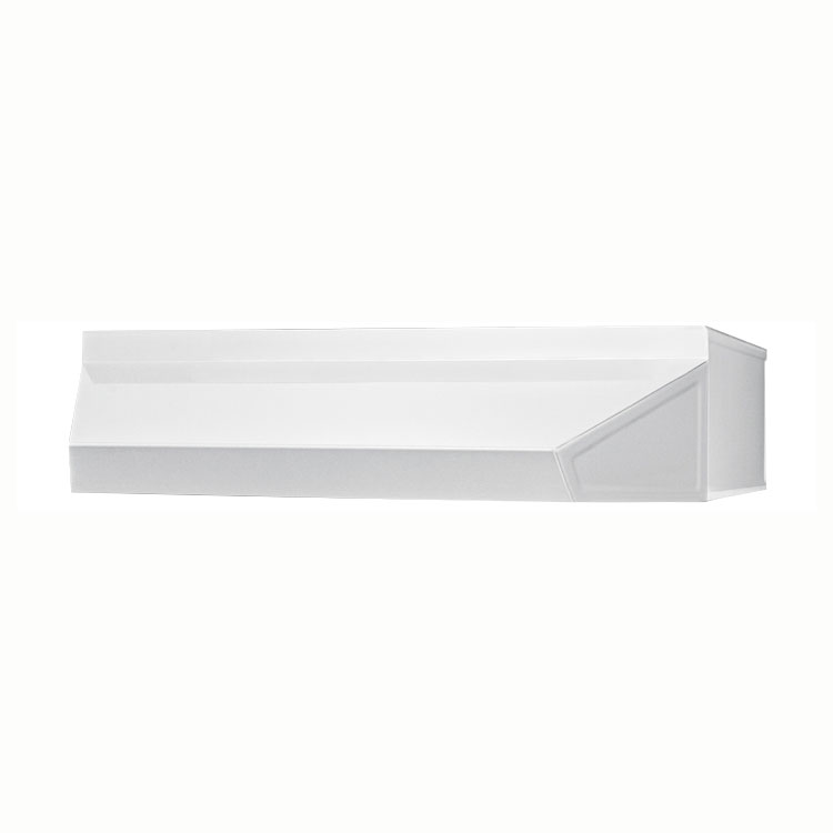 Summit Refrigeration SHELL36W 36-in Hell Hood, 5x36x18-in, White