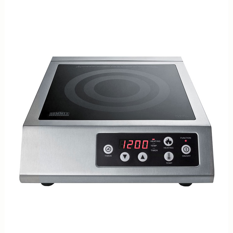 Summit SINCCOM1 Countertop Commercial Induction Cooktop w/ (1) Burner, 115v