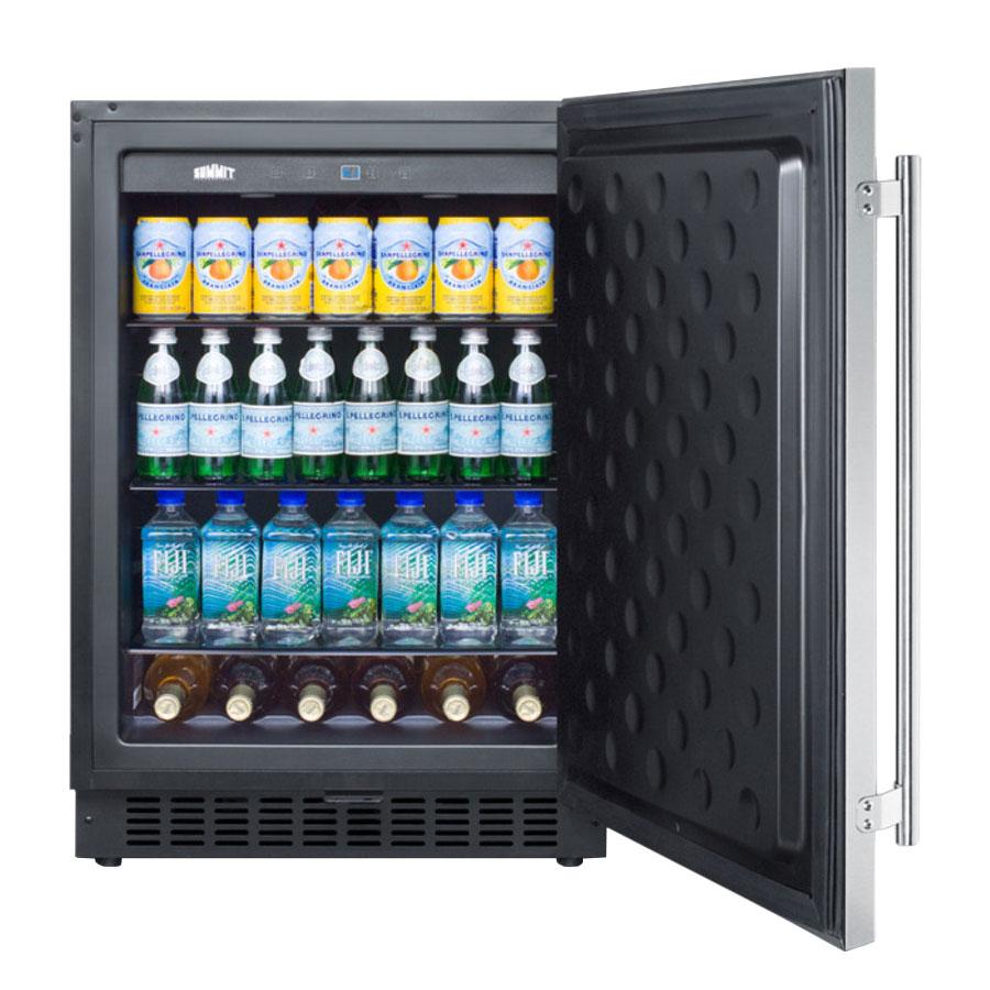 Summit SPR627OSCSS 4.6-cu ft Undercounter Refrigerator w/ (1) Section & (1) Door, 115v