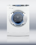 Summit Refrigeration SPWD1800 Front Loading Washer Dryer w/ 13-lb Wash Capacity & 6.6-lb Dry Capacity