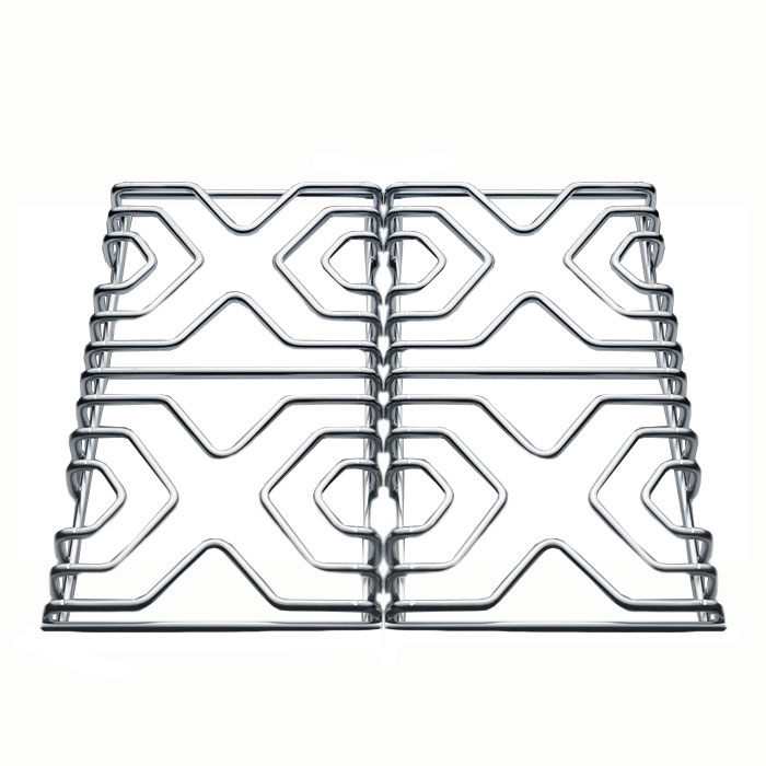 Summit SS GRATES 2-Piece Grate Set For Summit Gas Ranges, Stainless