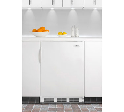 Summit Refrigeration AL650BI Undercounter Refrigerator Freezer w/ 1-Section, White, 5.1-cu ft, ADA