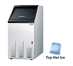 Summit Refrigeration BIM70 Undercounter Top Hat Ice Maker - 65-lbs/day, Air Cooled, 115v