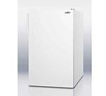 Summit Refrigeration CM4057ADA 20-in Freestanding Refrigerator Freezer w/ Manual Defrost, 4.1-cu ft, White, ADA