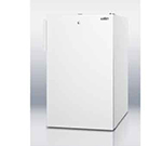Summit Refrigeration CM411L7 20-in Freestanding Refrigerator Freezer w/ Front Lock, 4.1-cu ft, White