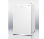 Summit Refrigeration CM411L7ADA 20-in Freestanding Refrigerator Freezer w/ Front Lock, 4.1-cu ft, White, ADA