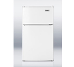 Summit Refrigeration CP35 Freestanding Upright Refrigerator w/ 1-Section & Dial Thermostat, White, 2.9-cu ft