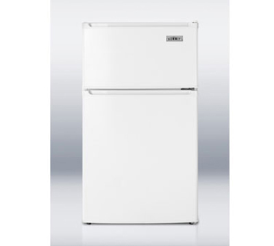 Summit CP35 Freestanding Upright Refrigerator w/ 1-Section & Dial Thermostat, White, 2.9-cu ft
