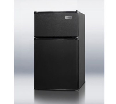 Summit Refrigeration CP35BADA Freestanding Upright Refrigerator w/ 1-Section & Dial Thermostat, Black, 2.9-cu ft, ADA