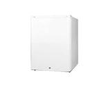 Summit Refrigeration FF32L Compact Refrigerator w/ Auto Defrost, Lock & Door Storage, 115v, White, 2.8-cu ft