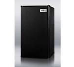 Summit Refrigeration FF43ESADA Refrigerator Freezer w/ Auto Defrost & Reversible Door, 115v, Black, 3.6-cu ft, ADA