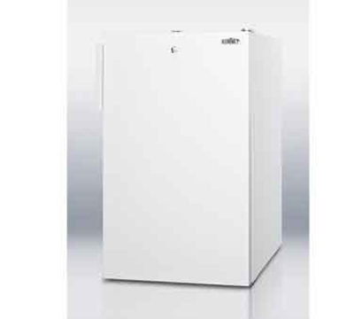 Summit Refrigeration FF511L7 4.1-cu ft Undercounter Refrigerator w/ (1) Section & (1) Door, 115v