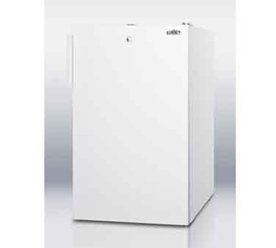 Summit Refrigeration FF511L7ADA 4.1-cu ft Undercounter Refrigerator w/ (1) Section & (1) Door, 115v