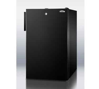 Summit Refrigeration FF521BL7ADA 4.1-cu ft Undercounter Refrigerator w/ (1) Section & (1) Door, 115v