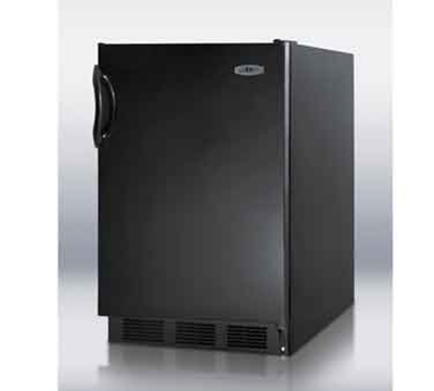Summit Refrigeration FF6BBI7ADA 5.5-cu ft Undercounter Refrigerator w/ (1) Section & (1) Door, 115v