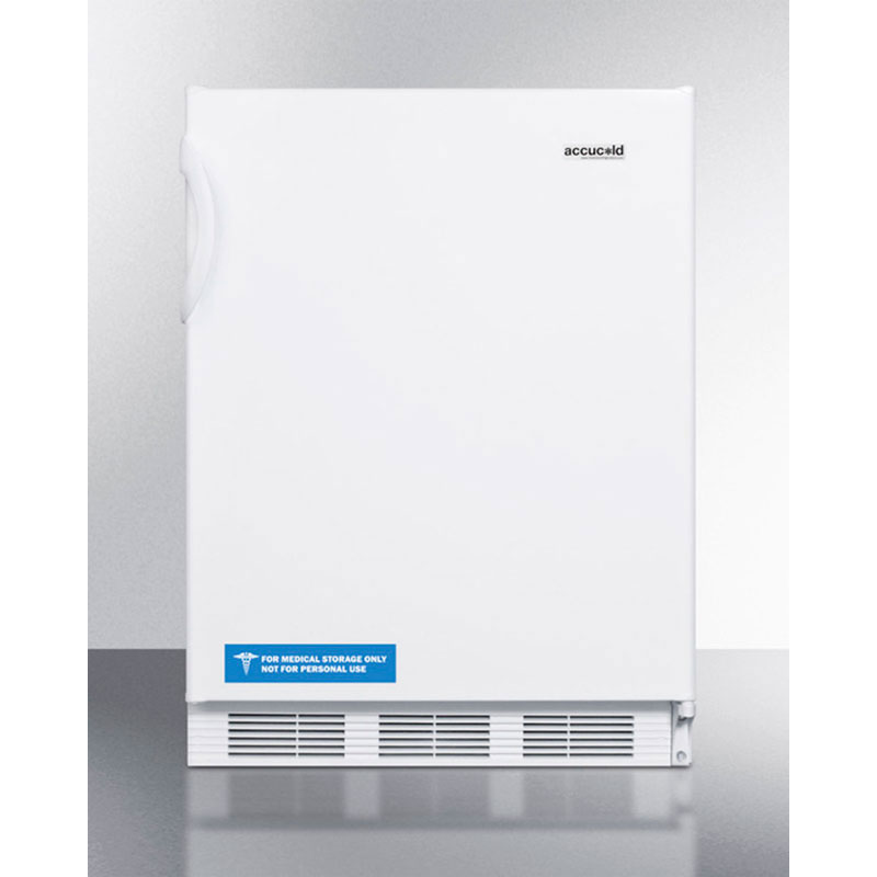Summit FF7 5.5-cu ft Undercounter Refrigerator w/ (1) Section & (1) Door, 115v