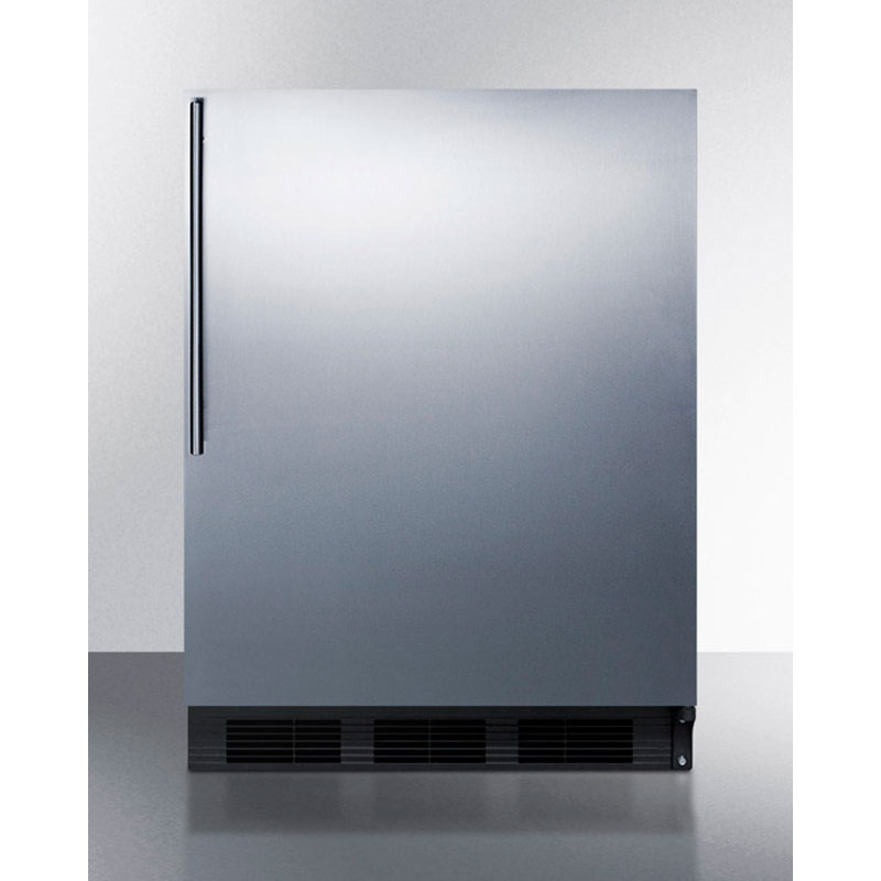 Summit Refrigeration FF7BBISSHVADA 5.5-cu ft Undercounter Refrigerator w/ (1) Section & (1) Door, 115v