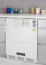 Summit FF7BILAB Undercounter Medical Refrigerator - Temperature Alarm, 115v