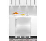 Summit Refrigeration FF7BISSTBADA 5.5-cu ft Undercounter Refrigerator w/ (1) Section & (1) Door, 115v