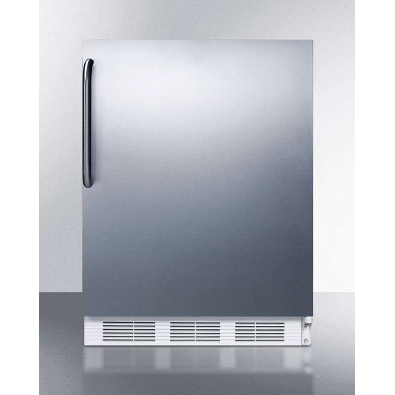 Summit Refrigeration FF7CSS 5.5-cu ft Undercounter Refrigerator w/ (1) Section & (1) Door, 115v