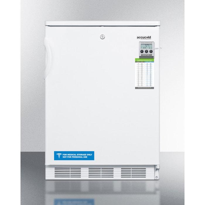 Summit Refrigeration FF7LBIMED 5.5-cu ft Undercounter Refrigerator w/ (1) Section & (1) Door, 115v