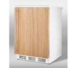 Summit Refrigeration FF7LIF 5.5-cu ft Undercounter Refrigerator w/ (1) Section & (1) Door, 115v