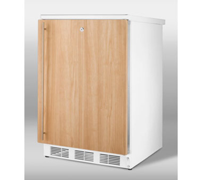 Summit Refrigeration FF7LIF 5.5-cu ft Undercounter Refrigerator w/ (1) Section & (1) Door, 115v