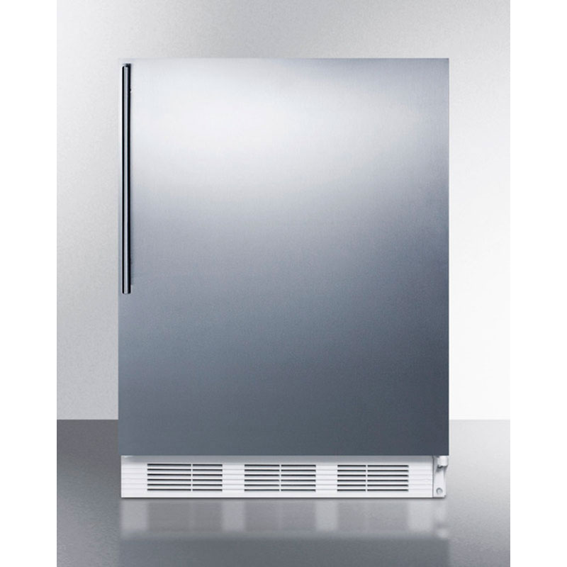 Summit Refrigeration FF7SSHV 5.5-cu ft Undercounter Refrigerator w/ (1) Section & (1) Door, 115v