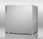 Summit FFAR2L7CSS Compact Refrigerator w/ Front Mount Lock, 1.8-cu ft, Stainless