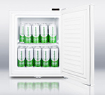 Summit Refrigeration FS22LFROST Compact Beer Froster w/ Manual Defrost & Front Mount Lock, 1.3-cu ft, White