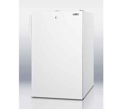 Summit Refrigeration FS407L7 2.8-cu ft Undercounter Freezer w/ (1) Section & (1) Door, 115v