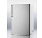 Summit FS407L7SSTB 2.8-cu ft Undercounter Freezer w/ (1) Section & (1) Door, 115v