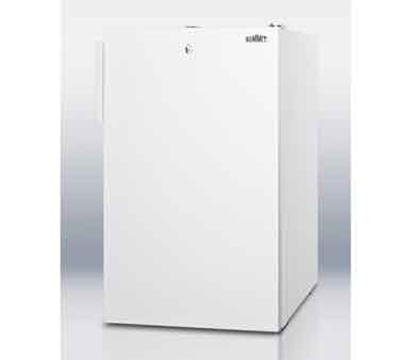 Summit Refrigeration FS407LBI7 2.8-cu ft Undercounter Freezer w/ (1) Section & (1) Door, 115v