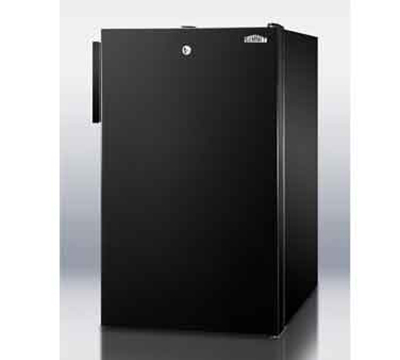 Summit Refrigeration FS408BL7 2.8-cu ft Undercounter Freezer w/ (1) Section & (1) Door, 115v