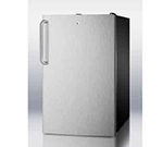 Summit Refrigeration FS408BL7SSTB 2.8-cu ft Undercounter Freezer w/ (1) Section & (1) Door, 115v