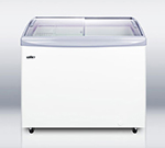 Summit SCF1095S Chest Freezer w/ 1-Section, 10-Tub Capacity & Manual Defrost, White, 9.4-cu ft