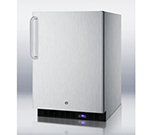 Summit Refrigeration SCFF51OSCSS 4.9-cu ft Undercounter Freezer w/ (1) Section & (1) Door, 115v
