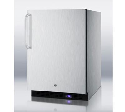 Summit Refrigeration SCFF51OSCSS 4.9-cu ft Undercounter Freezer w/ (1) Section & (1) Door, 115v