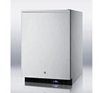 Summit Refrigeration SCFF51OSCSSHH 4.9-cu ft Undercounter Freezer w/ (1) Section & (1) Door, 115v
