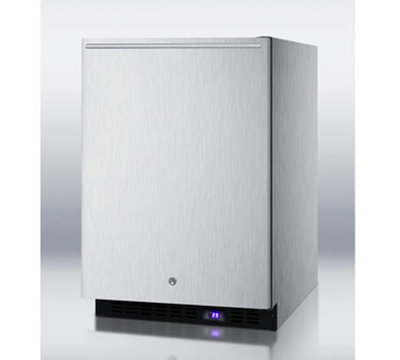 Summit Refrigeration SCFF51OSCSSHH 4.9-cu ft Undercounter Freezer w/ (1) Section & (1) Door, 115v
