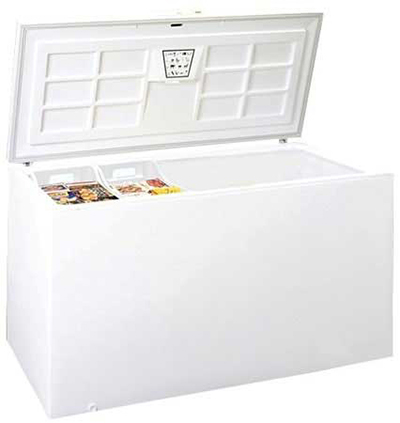 "Summit Refrigeration SCFR220 65"" Chest Refrigerator w/ Lift-Up Lid, White, 11.5-cu ft"