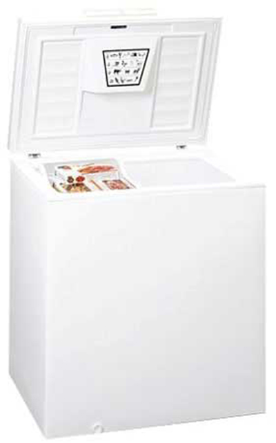 "Summit SCFR70 32"" Chest Refrigerator w/ Lift-Up Lid, White, 6.5-cu ft"