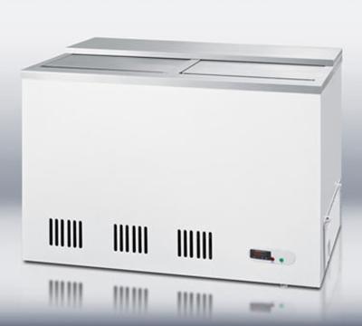 """Summit Refrigeration SCFR70BC 44"""" Forced Air Bottle Cooler - 115v"""