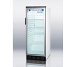 "Summit Refrigeration SCR1150 24"" One-Section Refrigerated Display w/ Swing Door, Bottom Mount Compressor, 115v"